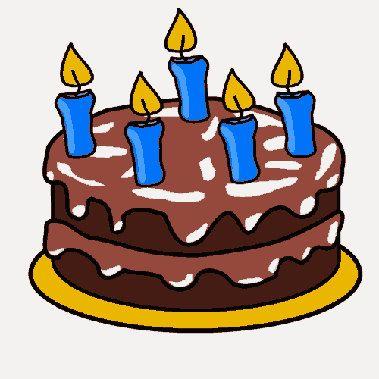 Birthday Cake Embroidery Design Cake Digitized Embroidery Design