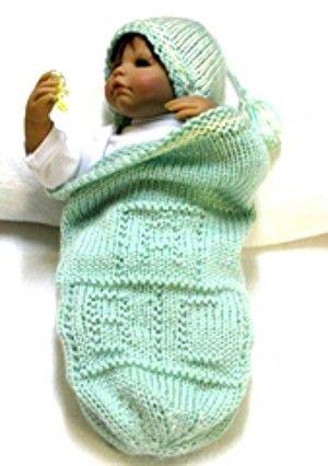 Abc Blocks Cocoon Matching Beanie Knitting Pattern Free Pod