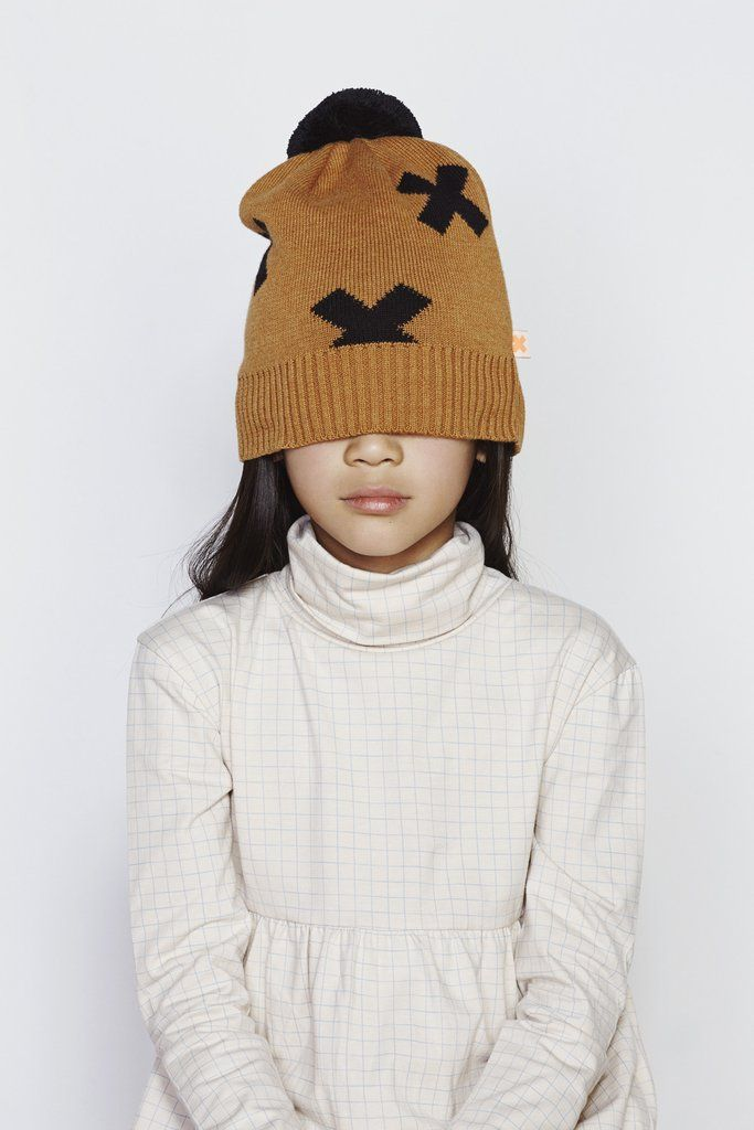 Tinycottons - Knitted logo beanie - lifestyle 1