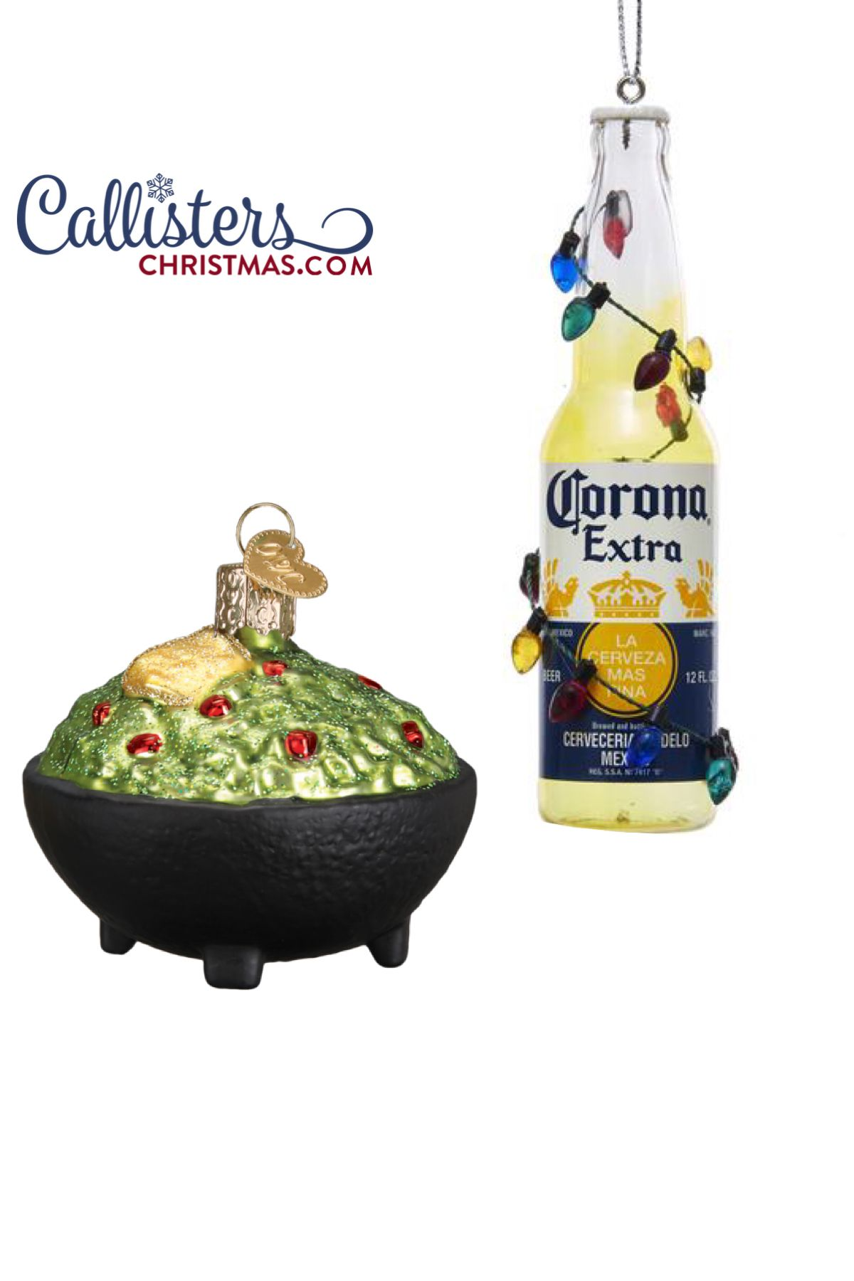 Cinco De Mayo Fun Callisters Christmas Beer Christmas Gifts Bottle Wrapping Lighted Ornaments