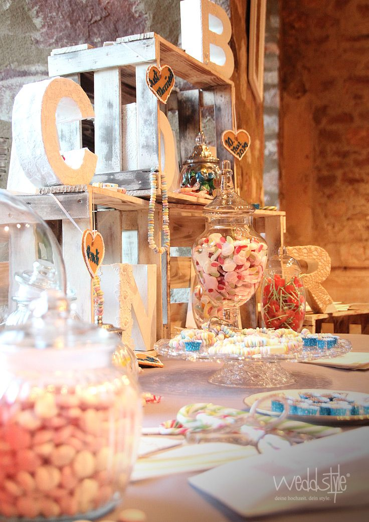 Vintage Candy Bar Idee Http Www Weddstyle De Hochzeit Candybar