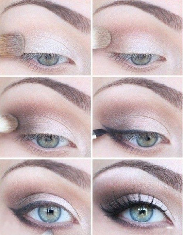 A soft and simple eye makeup for your blue eyes! | Eyeshadow Tutorials for Blue Eyes