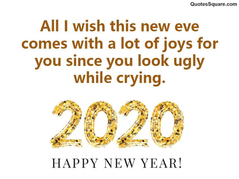 New Year 2020 Jokes Collection Funny Messages Quotes About New Year New Years Eve Quotes Funny New Year Images