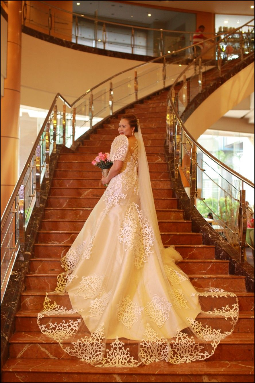 Filipino wedding dress  Filipiniana Wedding Gowns  Gowns  Pinterest  Gowns Weddings and