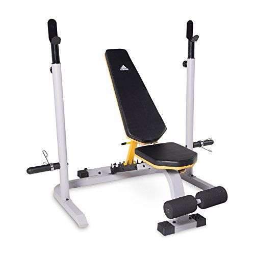 adidas Sport Utility Bench with Squat Rack ** Learn more by visiting the image link.(This is an Amazon affiliate link)