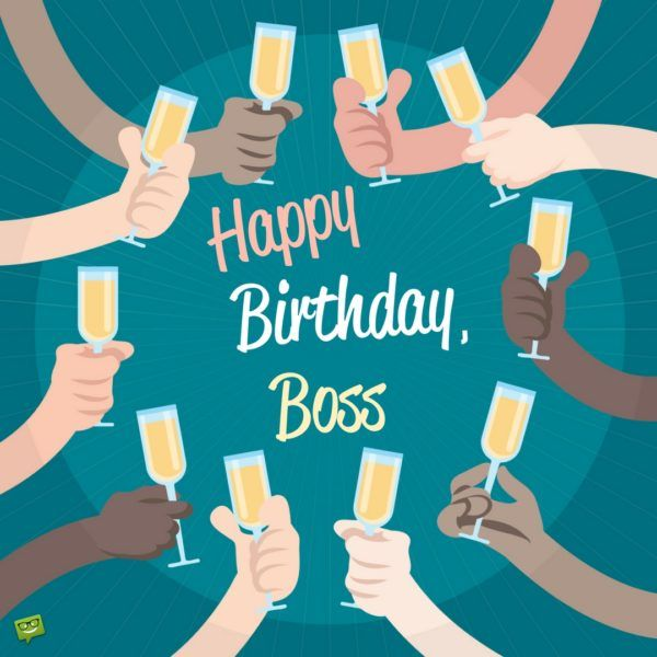 Professionally Yours Happy Birthday Wishes For My Boss Cartes