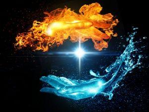 Ogon Voda Stati I Materialy Kirenika Twin Flame Art Fire Art Flame Art
