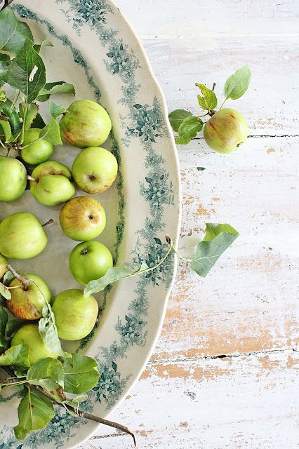 Apples Fresh Pinterest Kuche Herbst And Blau Grun