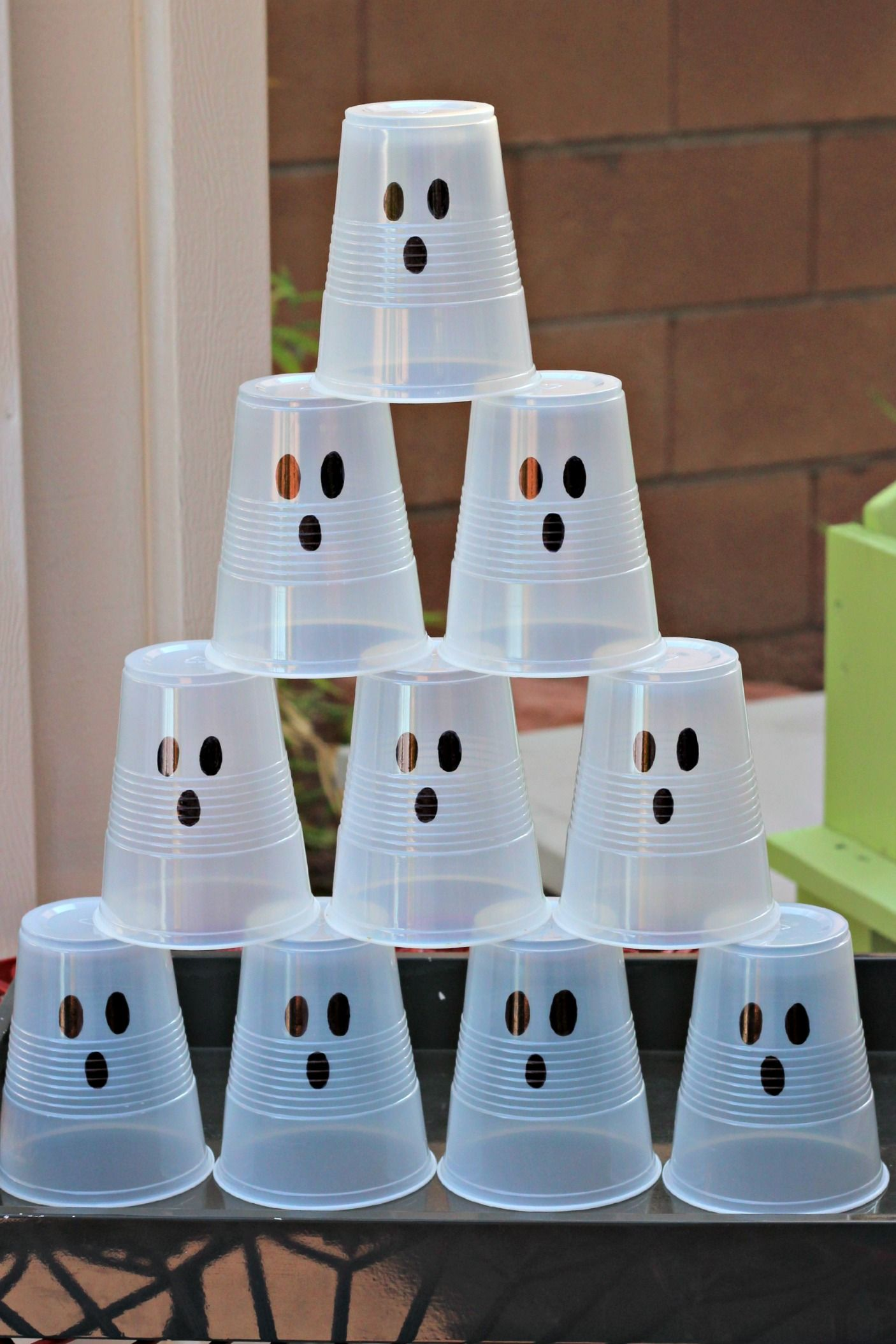 halloween ghost party. could shoot them with a nerf gun.ghost
