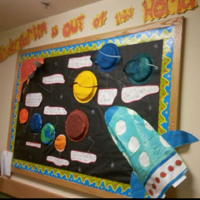 Solar system Bulletin Board | For my classroom | Pinterest ...