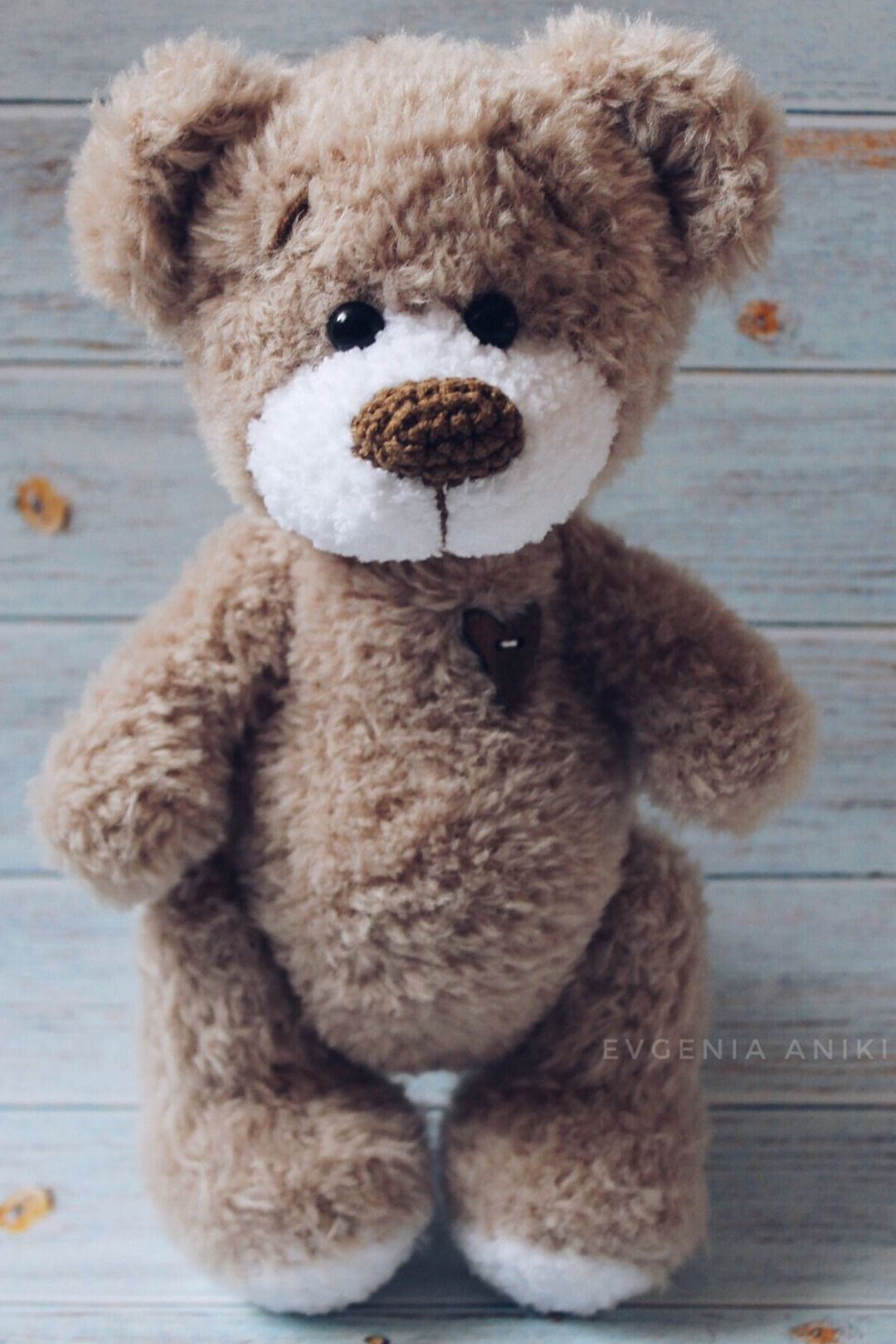 Crochet PATTERN Teddy Bear Crochet Amigurumi pattern toy bear PDF Teddy bear tutorial amigurumi bear