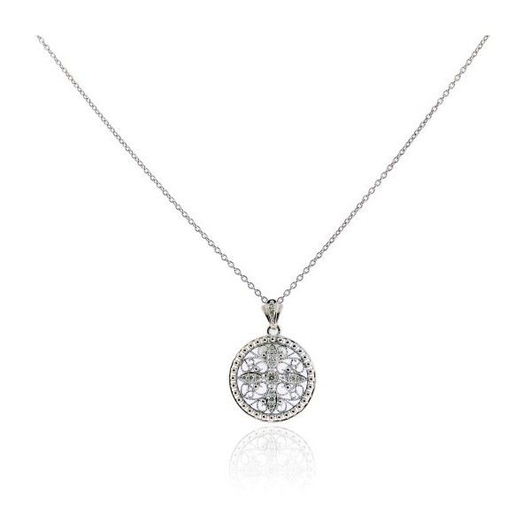 Pre owned roberto coin 18k white gold diamond cross pendant necklace pre owned roberto coin 18k white gold diamond cross pendant necklace 2995 aloadofball Gallery