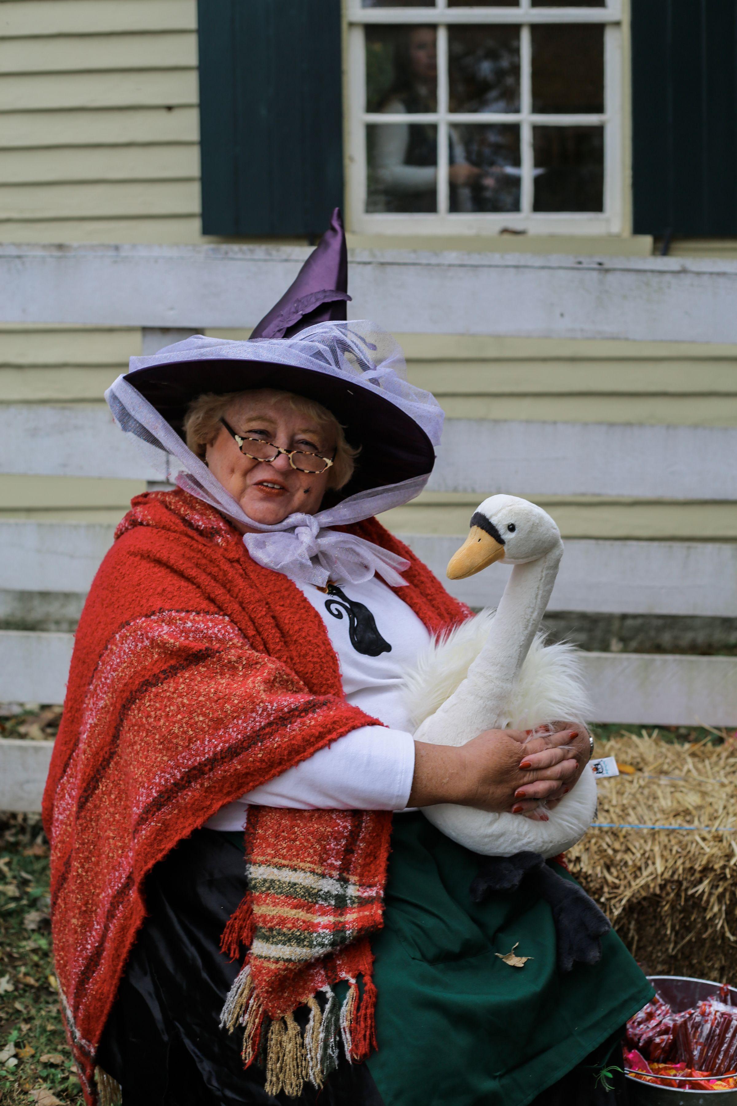 Halloween at Shaker Village, Harrodsburg KY mothergoose
