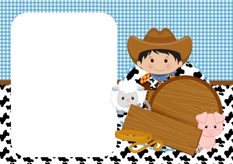 Super Convite Digital Fazendinha Menino | Fazendinha, Convites e Anao FH59