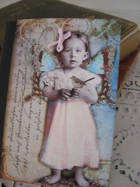altered notebook    ~Gorgeous!