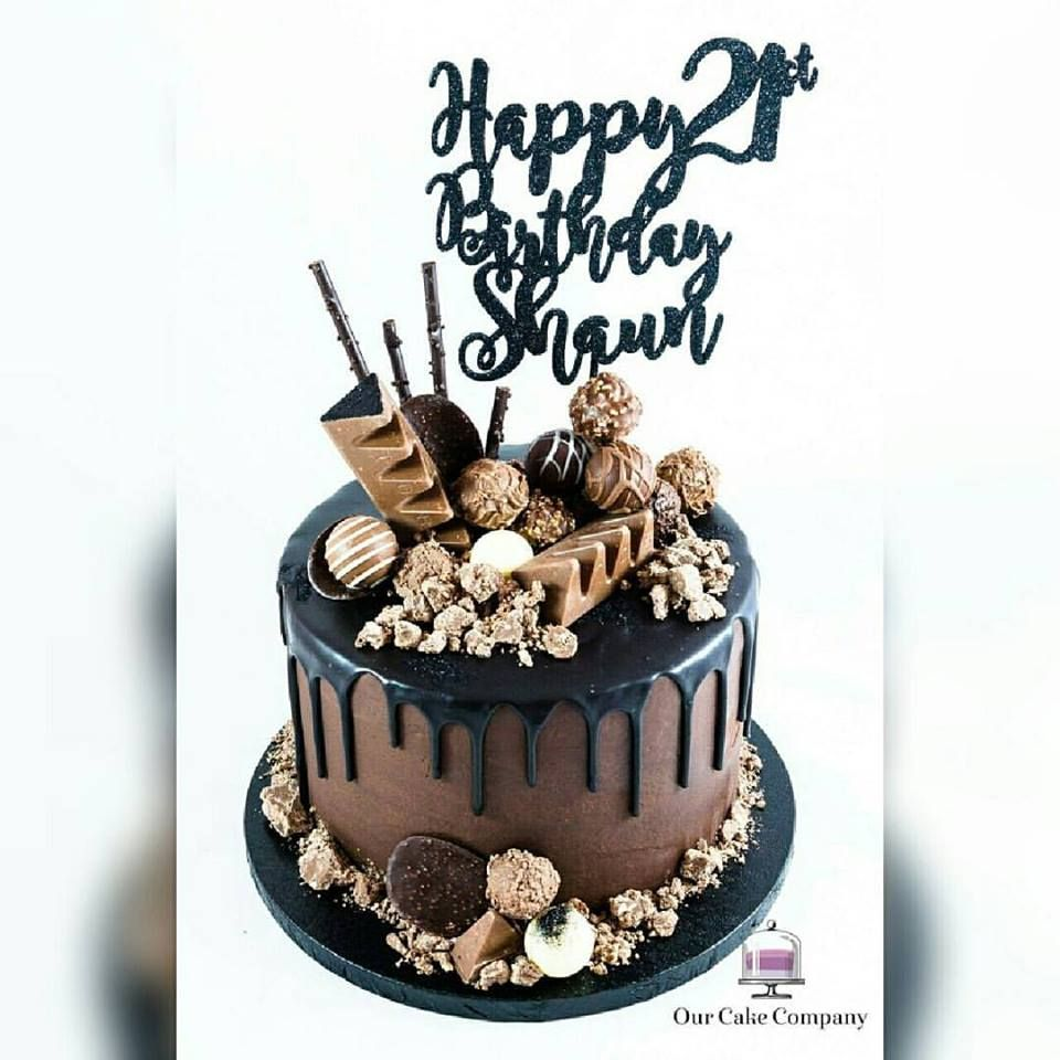 Image Result For 21st Chocolate Birthday Cake Ideas Drinks