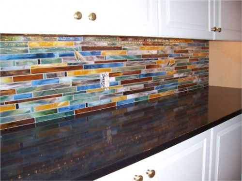 horizontal tile backsplash home style pinterest room decor rh pinterest com Horizontal Glass Tile Backsplash Horizontal Blue Tile Backsplash