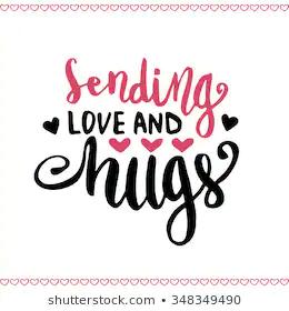Valentines Day Handwritten Card Hand Drawn Stock V