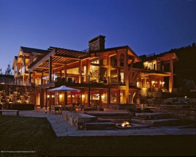 Colorado lucky break pinterest alaska cabin and log for Extravagant log homes