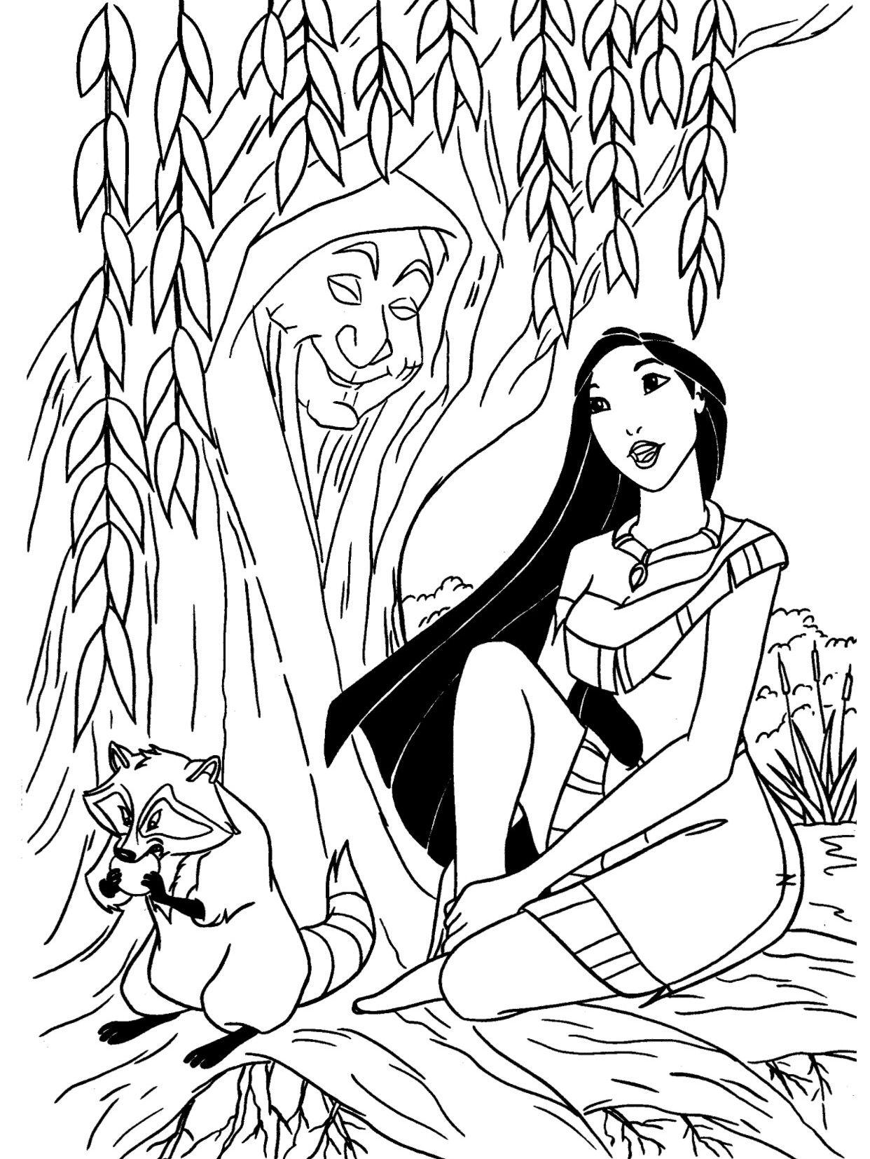 Lo Mejor De Dibujos Para Colorear Disney Para Imprimir Rapunzel ...