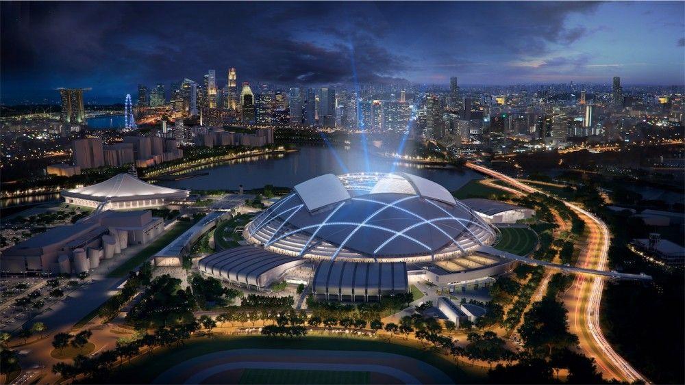 Gallery of In Progress Singapore Sports Hub / Arup 9