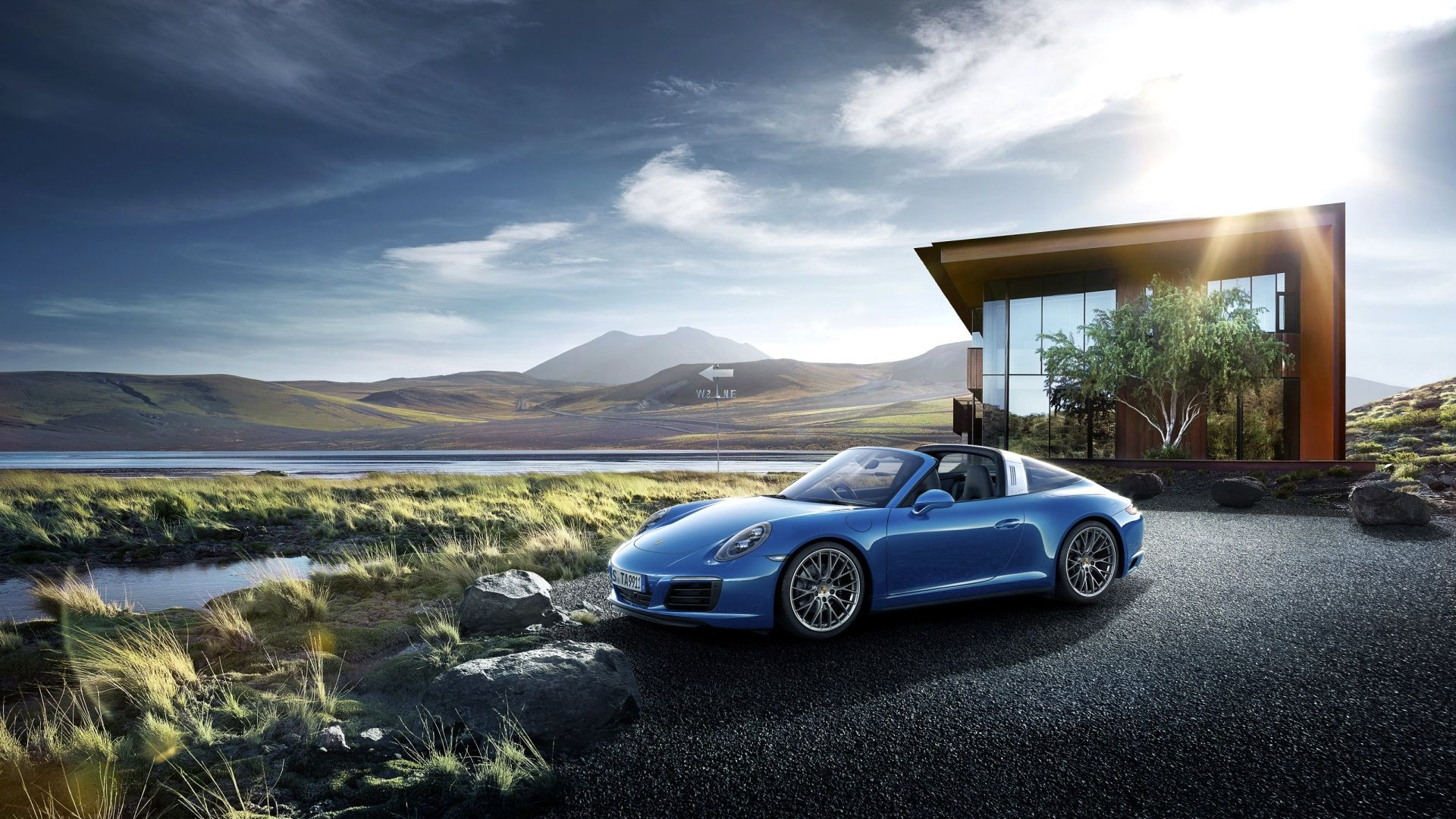 1920x1080 Porsche Cayman Download Hd Wallpaper For Desktop Porsche 911 Targa Porsche Car