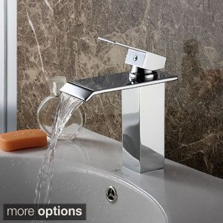 Shop For Elite 8815 Single Lever Waterfall Bathroom Sink Faucet. Get Free  Shipping At