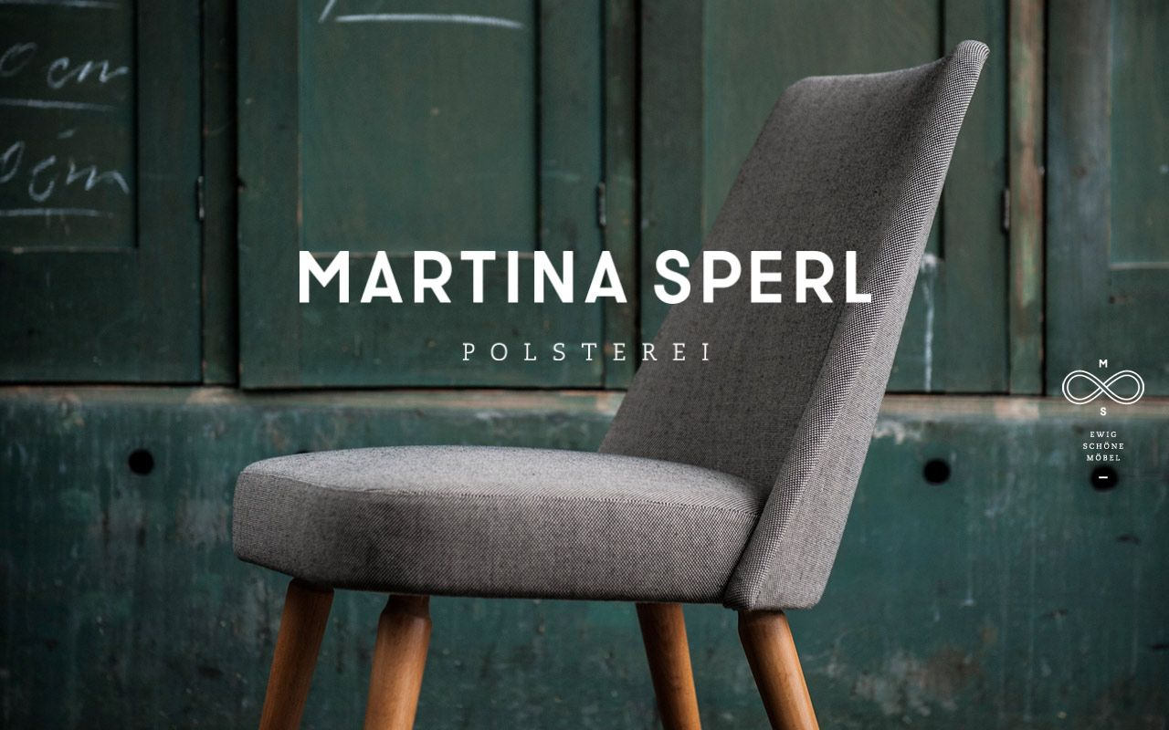 Beautiful Site For Austrian Furniture Upholsterer Martina Sperl. Lovely  Photography And Simple Design.