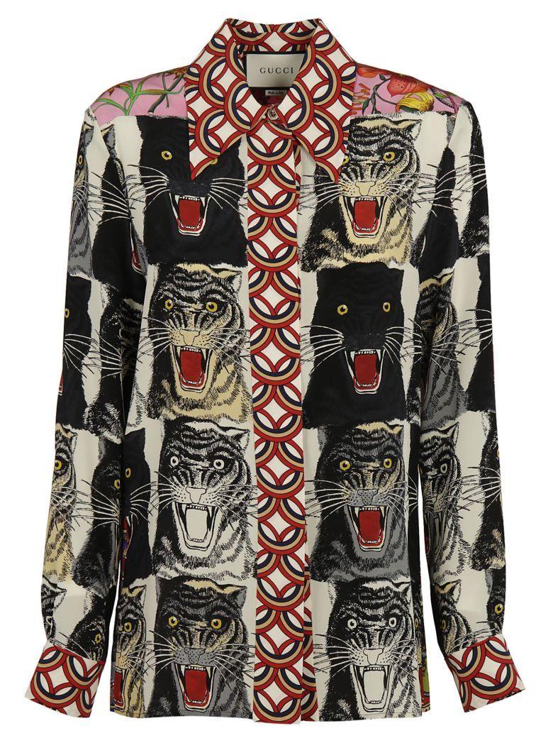 b4f2b0035 GUCCI Gucci Animal Print Shirt. #gucci #cloth # | Gucci | Animal ...