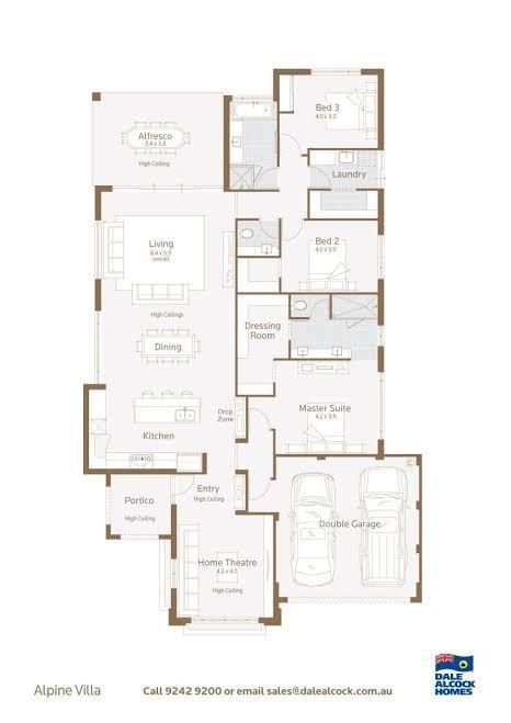Dale Alcock Alpine Villa In 2020 Floor Plans Display