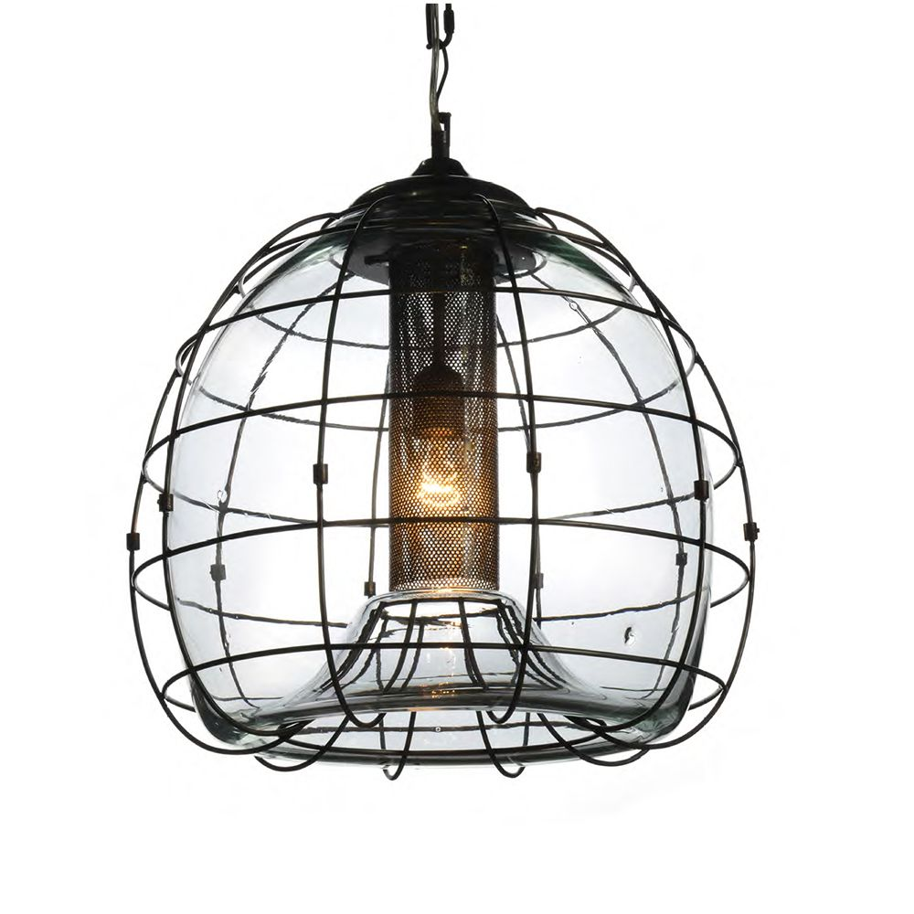 Timothy Oulton Faraday 40cm Pendant Clear Lighting Accessories Light Accessories Ceiling Lights Barker And Stonehouse