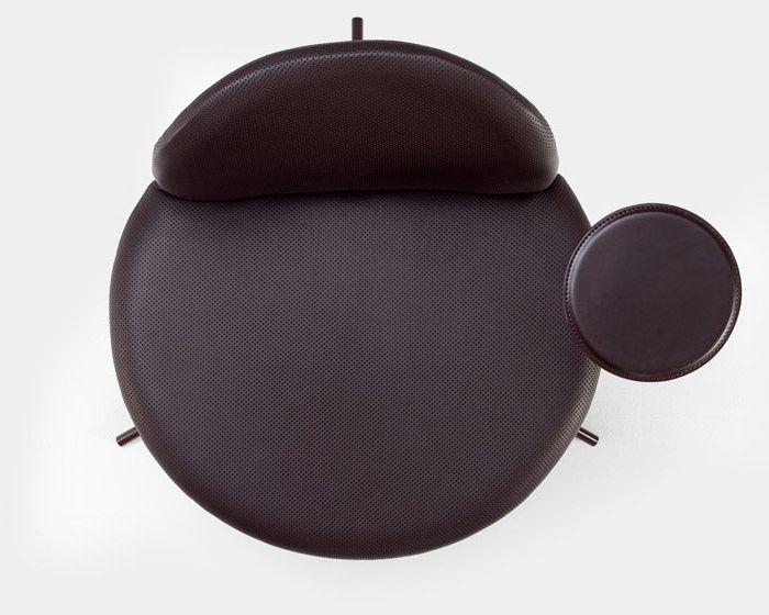 satellite la chaise vue de dessus par richard hutten. Black Bedroom Furniture Sets. Home Design Ideas