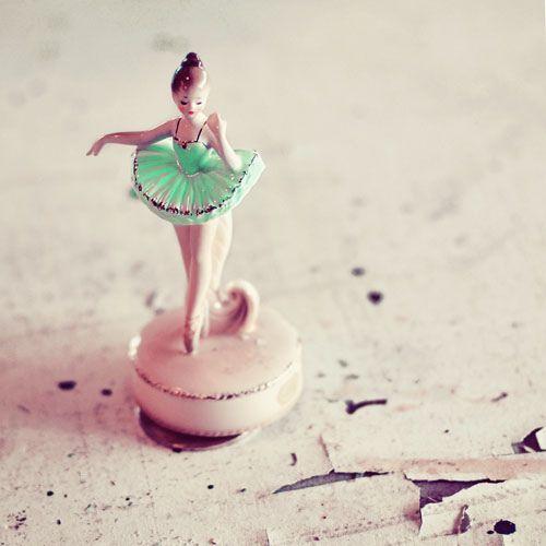 Mint Ballerina Girl