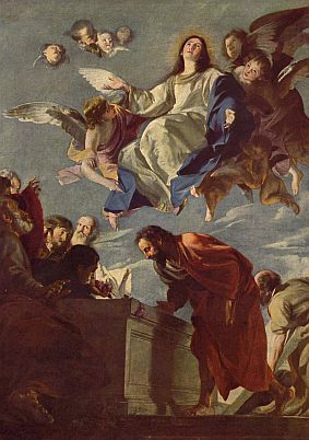 """Assumption of Mary, Where Science and Theology are Met by Elizabeth Scalia, aka """"The Anchoress"""""""