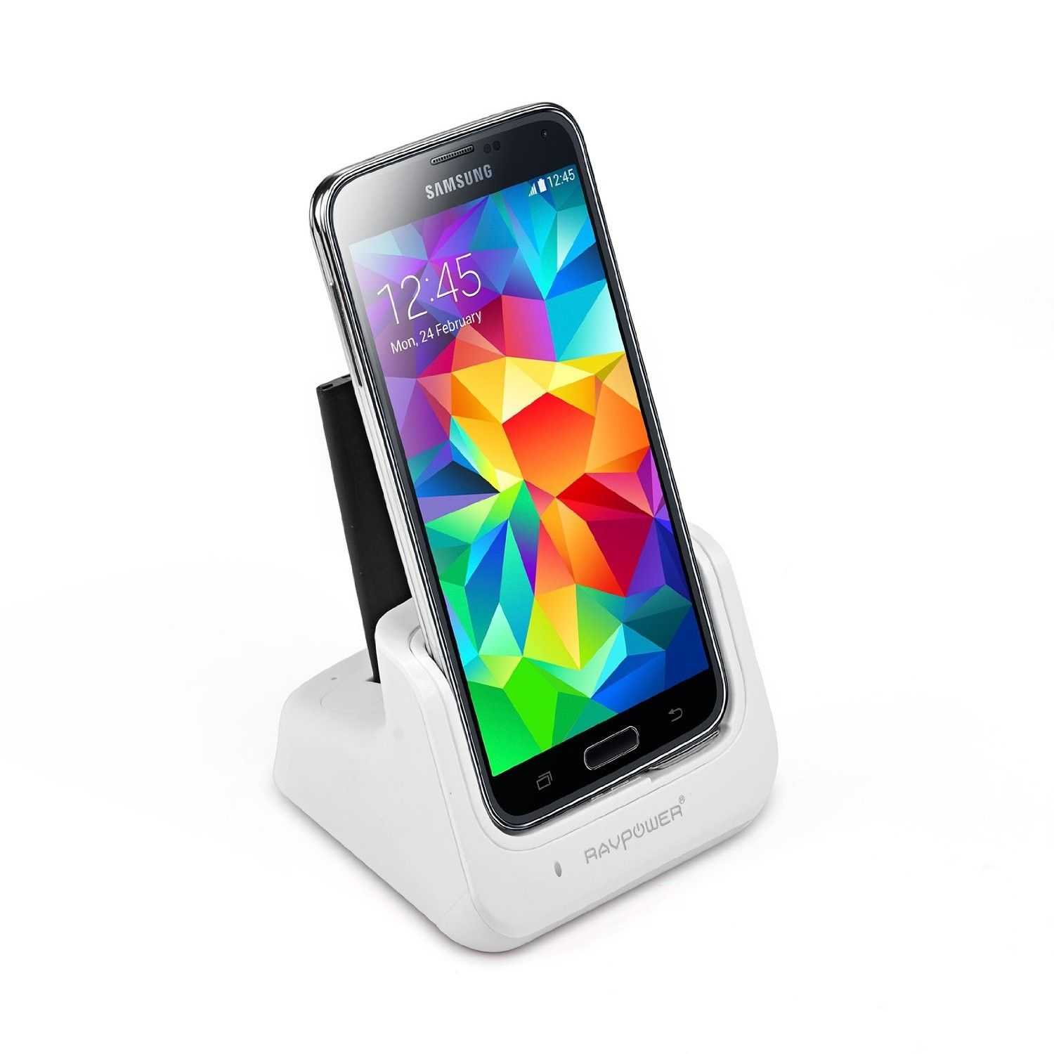 Galaxy S5 Station D Accueil Double Chargeur Blanche Galaxy S5 Accessoires Samsung Galaxy S5 Galaxy S5 Charging Cradle