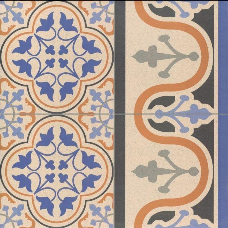 Decorative Tile Borders Britannia Victorian Tile Patterns  Decorative Border Tiles  Blue