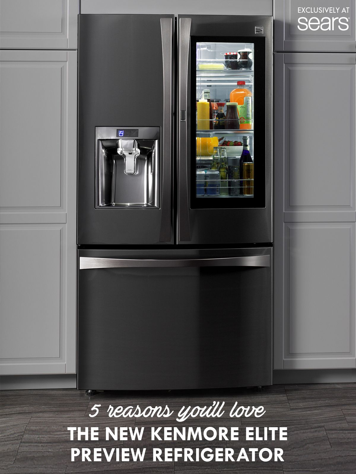 5 Reasons You Ll Love The New Kenmore Elite Preview Refrigerator Kenmore Elite Refrigerator Home Additions Outdoor Cooking Spaces