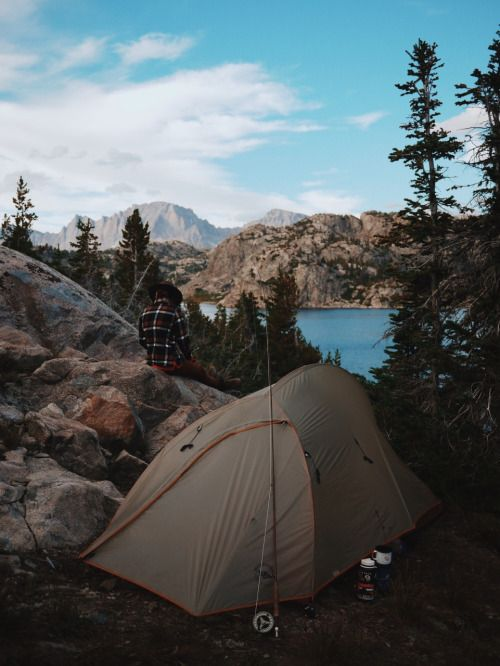 Backpacking in the Wind River Range WY & dirtlegends: A lake all our own. Backpacking in the Wind River ...