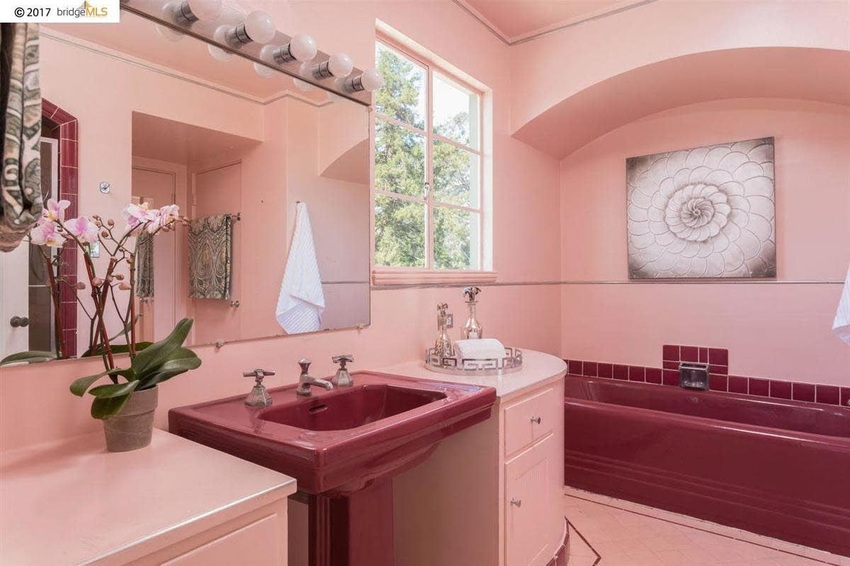 Pink Mid Century Bathrooms In America Mid Century Bathroom Bathroom Vintage Bathrooms