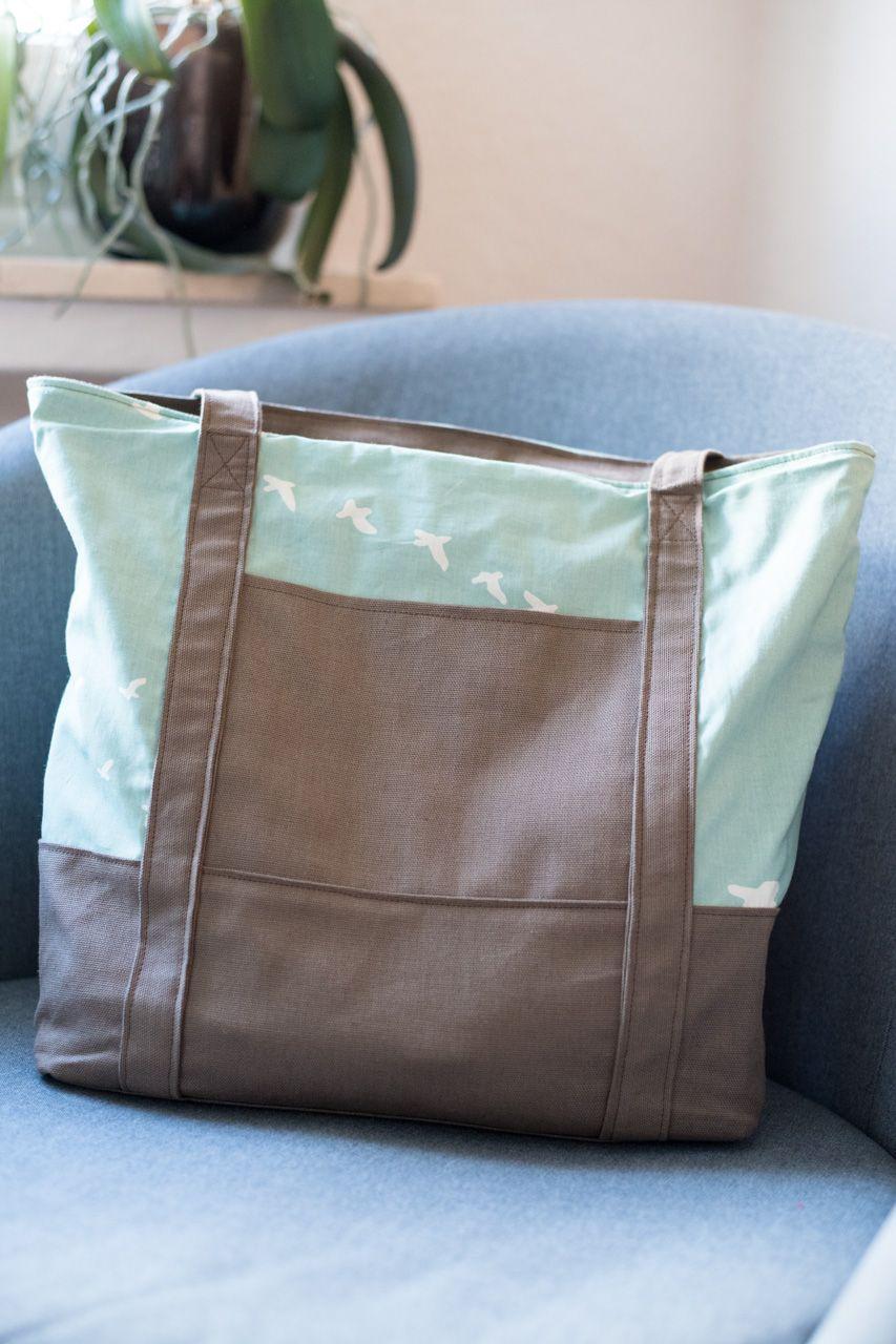 "Handtasche ""Svea"": http://www.kreativlaborberlin.de/naehanleitungen ..."