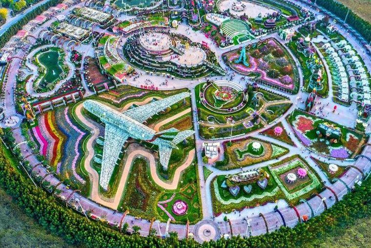 Dubai Miracle Garden Miracle garden, Dubai garden, Dubai