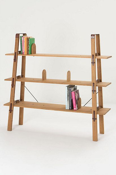 Attache Wide Bookcase Anthropologie Dan Can Build This One