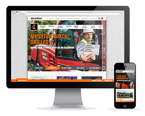 How we we made DitchWitch.com #website #webdevelopment #webdesign