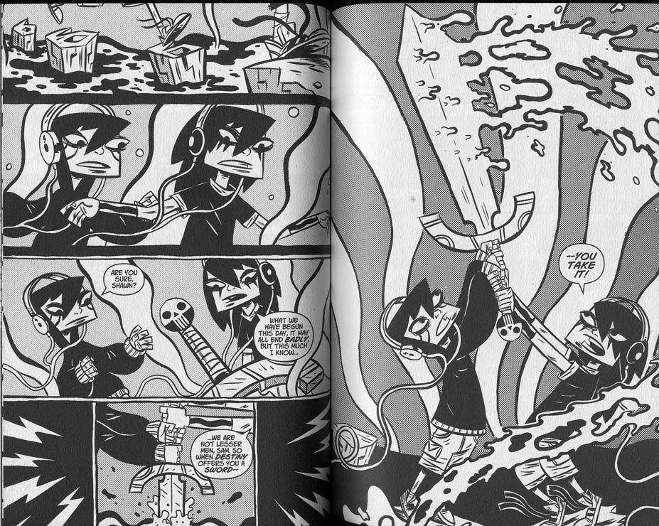 Znalezione obrazy dla zapytania black metal comic