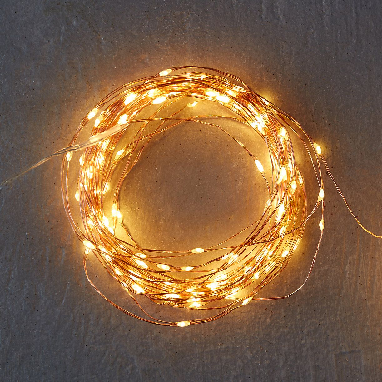 Stargazer Copper Twine Lights 100 Plug In Terrain Copper Wire Lights Outdoor Fairy Lights Lights