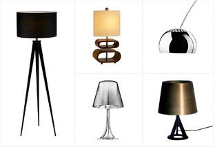 Shorter days call for brighter lights! Shop our most intriguing table and floor lamps for a unique design statement that really shines. From architectural anglepoise pieces to chic shades of colored plastic, this curated collection will have even your darkest décor looking on the bright side. Turn on to a more stylish  season.http://www.allmodern.com/deals-and-design-ideas/Bright-Ideas%3A-Floor-%2B-Table-Lamps~E14770.html?refid=SBP.rBAZEVQzM95qZ1RPbjWoAldM4sIdCkCIp1uwOCNlPxk