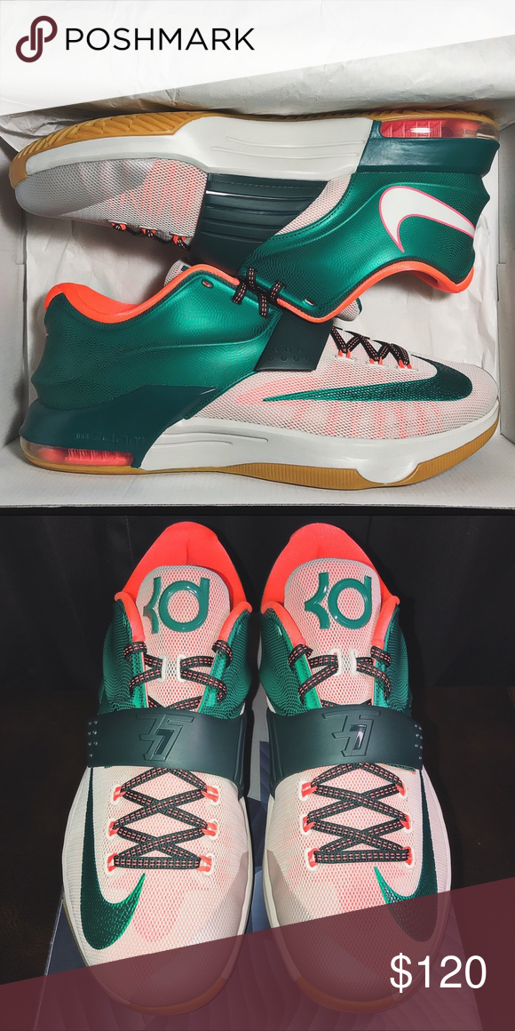 "info for 2113c 8f801 Men s (12) Nike KD 7 ""Easy Money"" These are brand new, never worn KD VII ""Easy  Money"" that come with the original box. Very nice shoe! Nike Shoes Athletic  ..."