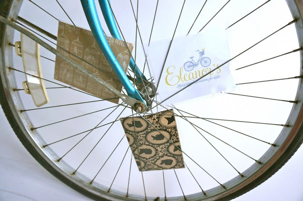 D I Y Bicycle Spoke Cards Eleanor S Stylish Bicycle Accessories For Ladies Bicycle Spokes Stylish Bicycle Bicycle Accessories