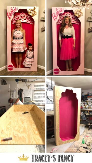 Life Size Barbie Box For A Barbie Farmhouse Party Barbie Box