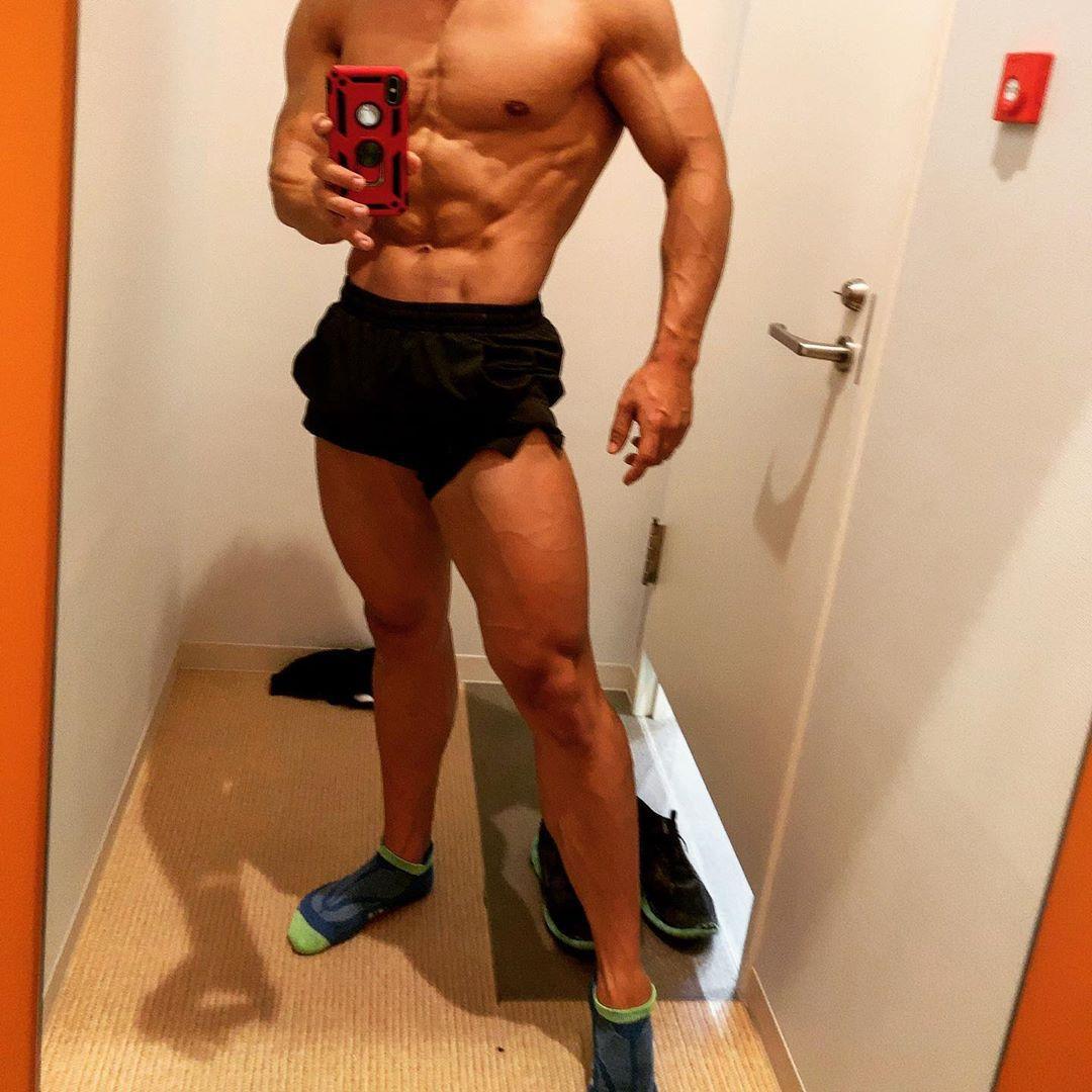 脚トレやで  #bodybuilding #fitness #fitnessmotivation #physique #npcj #workout...